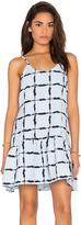 J.o.a. Box Checkered Dress