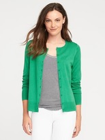 Old Navy Button-Front Crew-Neck Cardi for Women