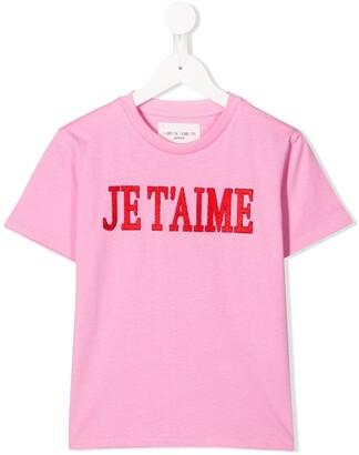 Alberta Ferretti Kids embroidered T-shirt
