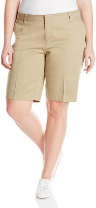 Dickies Juniors Plus Size Stretch Bermuda Short