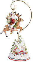 Fitz & Floyd Damask Holiday 2016 Ornament with Stand