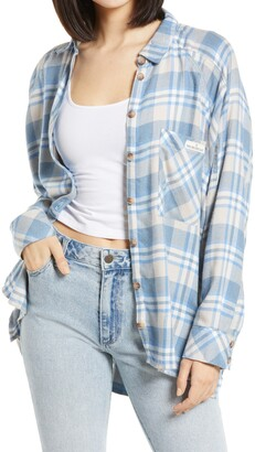BDG Plaid Button-Up Shirt