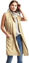 Gap Long Tencel® trench vest