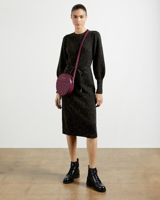 Ted Baker FAUSTAA Tie waist knit dress