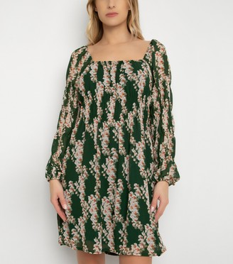 New Look Gini London Floral Tiered Dress