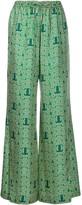 Lanvin drawstring waist trousers