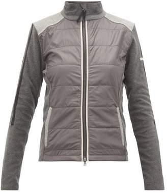 Capranea - Nine Quilted Mid-layer Jacket - Womens - Dark Grey