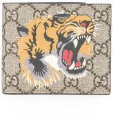 Gucci GG Supreme tiger print wallet - men - Polyurethane/Canvas - One Size