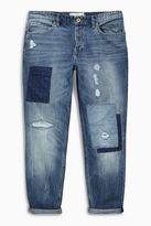 Light Blue Patched Jeans