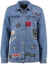 Only ONLEVA Denim jacket light blue denim