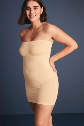 Next Womens Nude Firm Control Strapless Slip - Nude