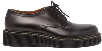 Marni Leather Derby Shoes - Mens - Black