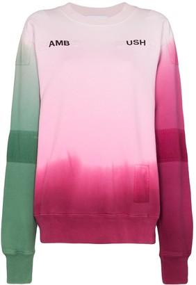Ambush Tie-Dye Pattern Sweatshirt