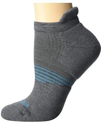Darn Tough Vermont Element No Show Tab Lightweight with Cushion (Black) Women's Crew Cut Socks Shoes