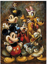 Disney ''Mickey Mouse and Friends'' Giclée by Darren Wilson