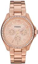 Fossil CECILE Chronograph watch rosegoldcoloured