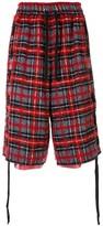 Faith Connexion tartan check shorts