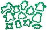 Let's Make Lets Make Plastic Christmas Cookie Cutter Set