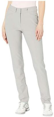 adidas Full-Length Pants (Medium Solid Grey) Women's Casual Pants