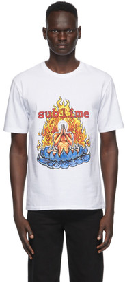Wacko Maria White Sublime Edition Washed Heavy Weight T-Shirt