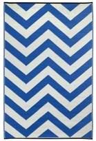 Laguna Regatta Blue and White Rug