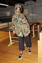 CONTEMPORARY Camouflage Cotton Hooded Anorak