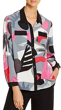 Nic+Zoe Masterpiece Printed Blouse