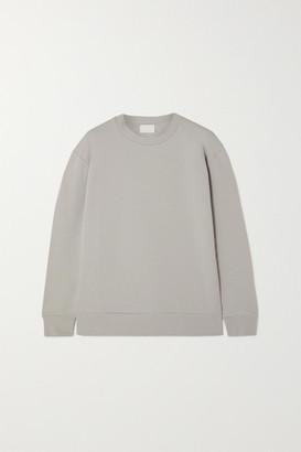Handvaerk - Stretch-pima Cotton-jersey Sweatshirt - Gray