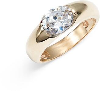 Bardot Loren Stewart Cubic Zirconia Band Ring