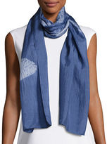 Eileen Fisher Silk Shibori Movement Scarf