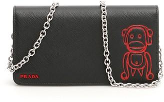 Prada Animal Logo Mini Bag