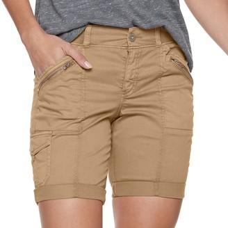 Petite SONOMA Goods for Life Utility Cuffed Bermuda Shorts