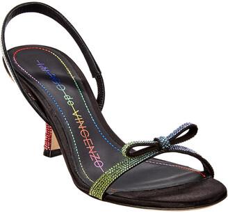 Marco De Vincenzo 65 Strass Sandal
