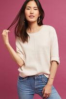 Anthropologie Vita Cropped Cocoon Sweater