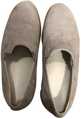 Louis Vuitton Grey Rubber Flats