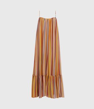 AllSaints Paola Stripe Dress