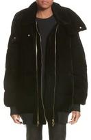 Stella McCartney Women's Velour Puffer Coat
