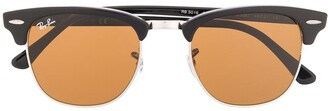 Ray-Ban Square Frame Tinted Sunglasses