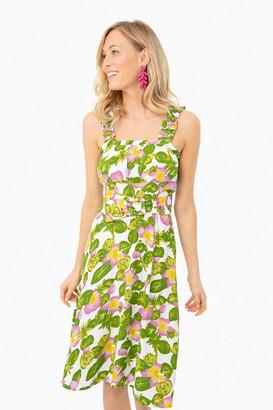 Mae Steffy Floral Midi Dress
