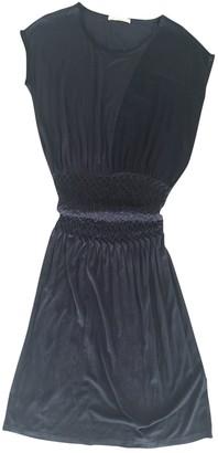 BOSS ORANGE Navy Cotton Dress for Women
