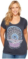 Lucky Brand Plus Size Swan Tee Women's T Shirt