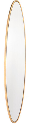 ZUO Oval Gold Mirror