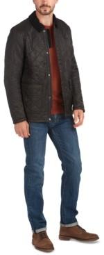 Barbour Men's Denill Polar Fleece Box-Quilted Jacket