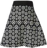 Fausto Puglisi circle print A-line skirt
