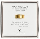 Dogeared Dogered 'Legacy Colelction - Be Present' Ring