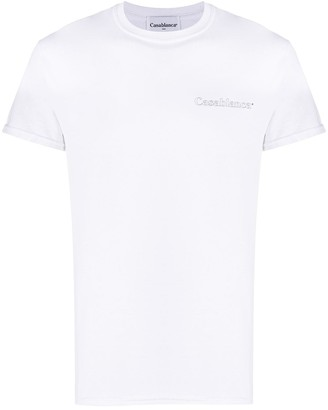 Casablanca chest logo T-shirt
