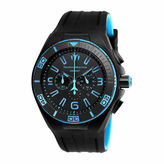 Technomarine TECHNO MARINE Techno Marine Mens Black Strap Watch-Tm-115058