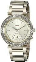 Fossil Women's ES3914 Analog Display Analog Quartz Gold Watch