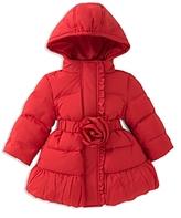 Kate Spade Girls' Rosette Puffer Coat - Baby
