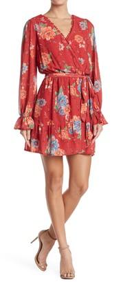 Flying Tomato Floral Print Mini Dress